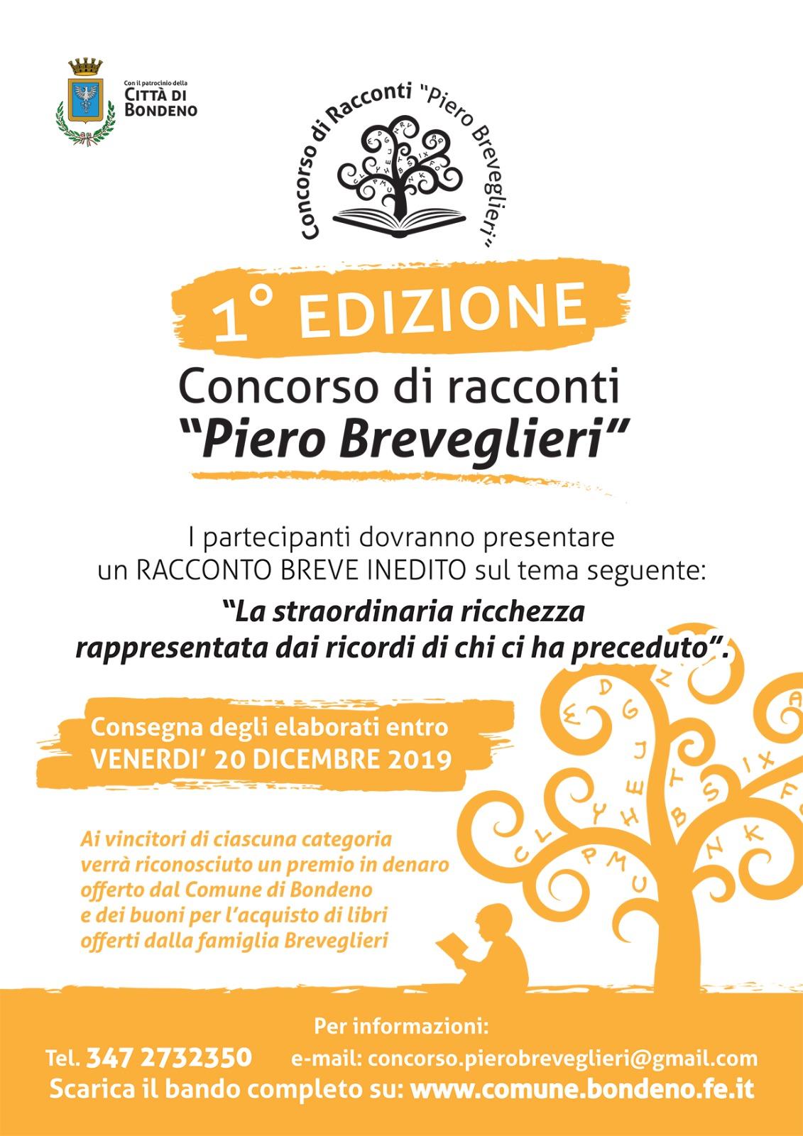 """Comune Di Arcugnano Concorsi comune di bondeno - bando concorso """"p. breveglieri"""""""